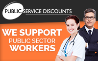 Public Sector Staff Discount